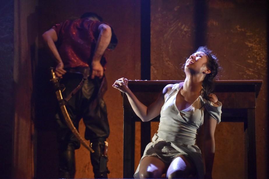 La pièce a été écrite en vue de... (Photo Maxime Côté, fournie par le Théâtre Prospero)