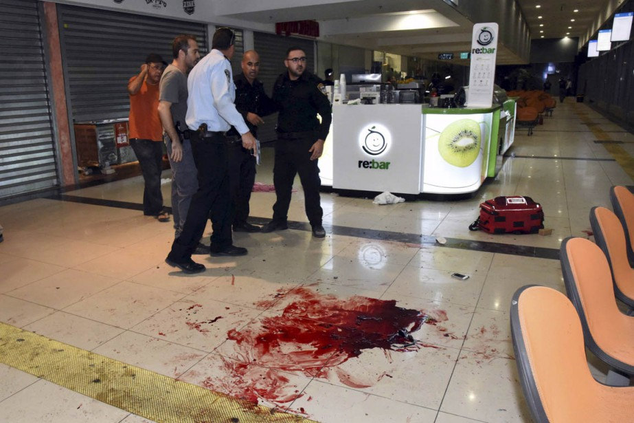 Un homme, probablement palestinien, a fait irruption dans... (Photo Reuters)