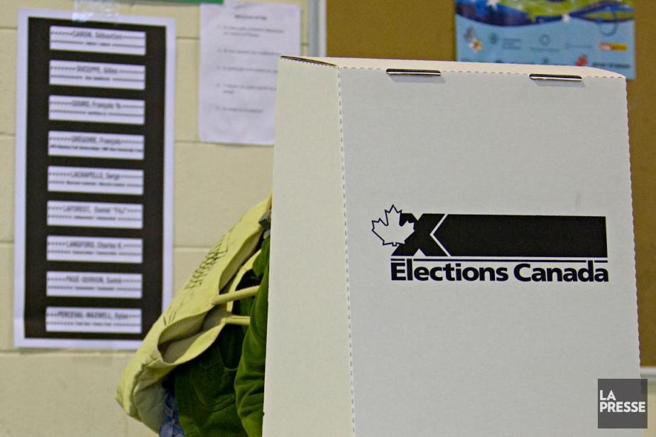 Élections Canada fait état d'une augmentation... (Photo archives La Presse)