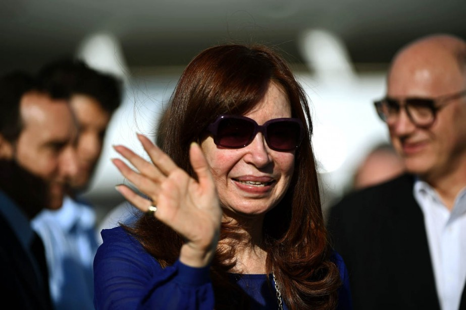 À 62 ans, Cristina Kirchner ne peut pas... (PHOTO FILIPPO MONTEFORTE, ARRCHIVES AFP)