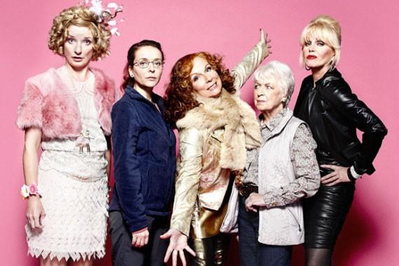 Les personnages de la série télévisée britannique culte... (PHOTO ALLOCINE.FR)