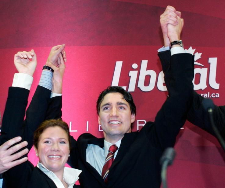 Octobre 2008 Justin Trudeau passe son premier test en politique et remporte l'investiture dans Papineau en avril 2007. Plus d'un an plus tard, il devient député, entamant officiellement sa carrière de politicien à Ottawa. (Photothèque Le Soleil)