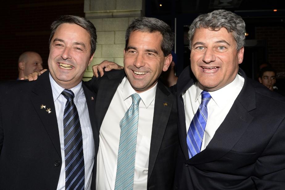 Les candidats conservateurs élus de la région de... (PHOTO BERNARD BRAULT, LA PRESSE)