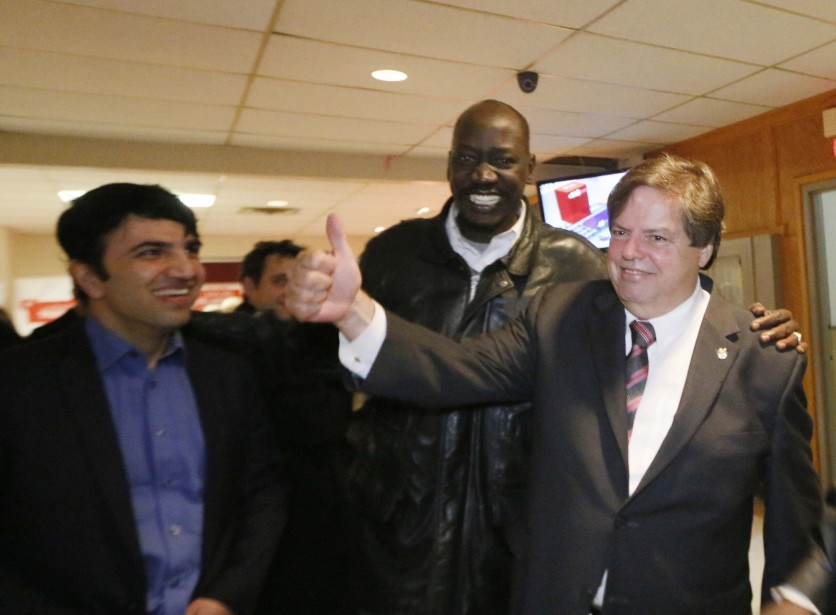 Mauril Bélanger a été réélu pour une septième fois dans Ottawa-Vanier. (Simon Séguin-Bertrand, LeDroit)