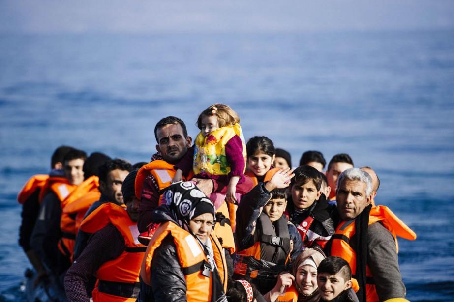 Un haut responsable de la police grec a... (PHOTO DIMITAR DILKOFF, AFP)