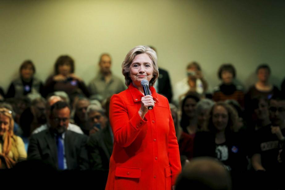 Dans ce dernier sondage, Hillary Clinton est créditée... (PHOTO BRIAN SNYDER, ARCHIVES REUTERS)