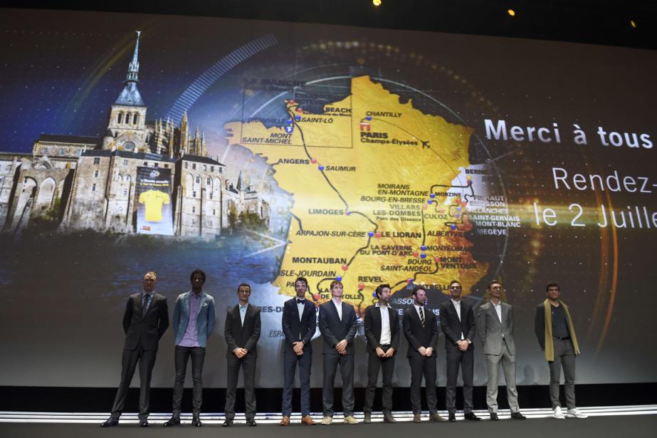 Les organisateurs du Tour de France ont dévoilé... (Photo Eric Feferberg, AFP)