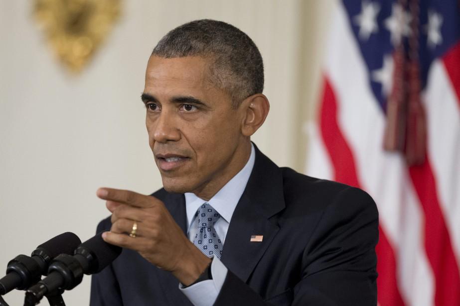 Barack Obama «a souhaité la réussite au futur... (PHOTO MANUEL BALCE CENETA, ARCHIVES ASSOCIATED PRESS)