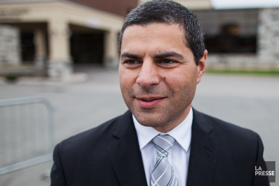 Alain Rayes, ancien maire de Victoriaville et nouveau... (PHOTO EDOUARD PLANTE-FRÉCHETTE, LA PRESSE)