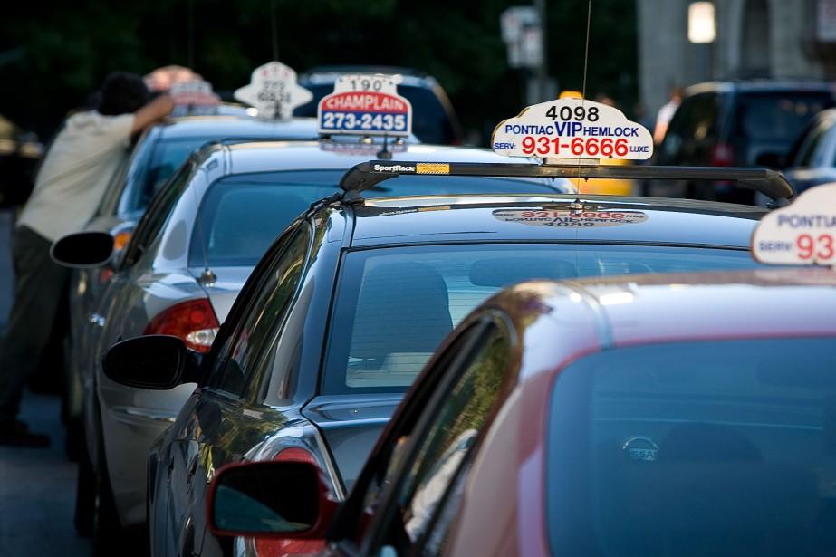 L'industrie du taxi proposera aujourd'hui, aux audiences publiques... (PHOTO ANDRÉ PICHETTE, LA PRESSE)