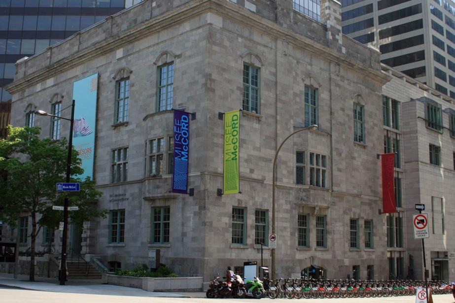 Le Musée McCord... (Photo: fournie par le Musée McCord)