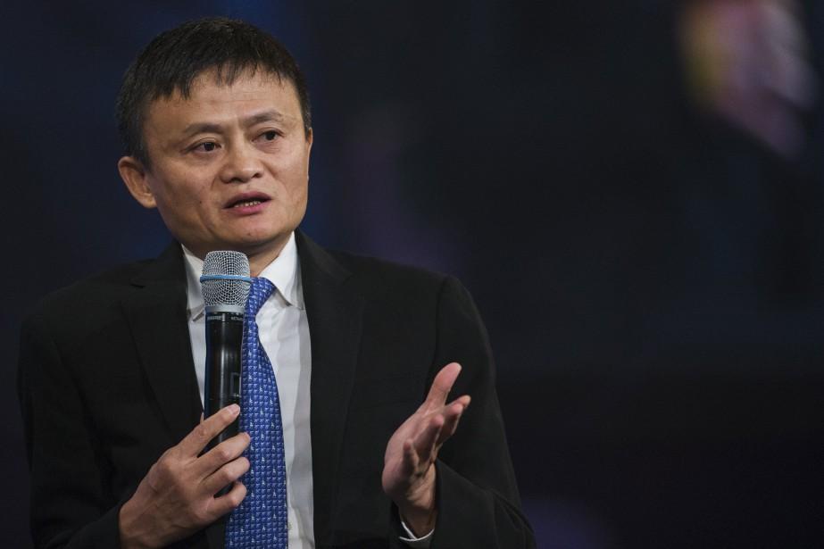 Jack Ma, patron d'Alibaba, est actuellement l'homme le... (Photo archives Reuters)