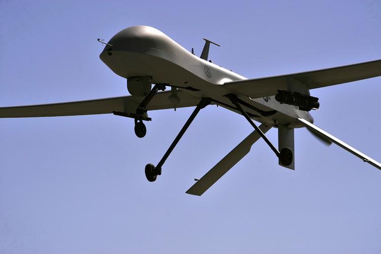 L'armée de l'air américaine a récemment perdu deux drones armés en... (PHOTO AFP)