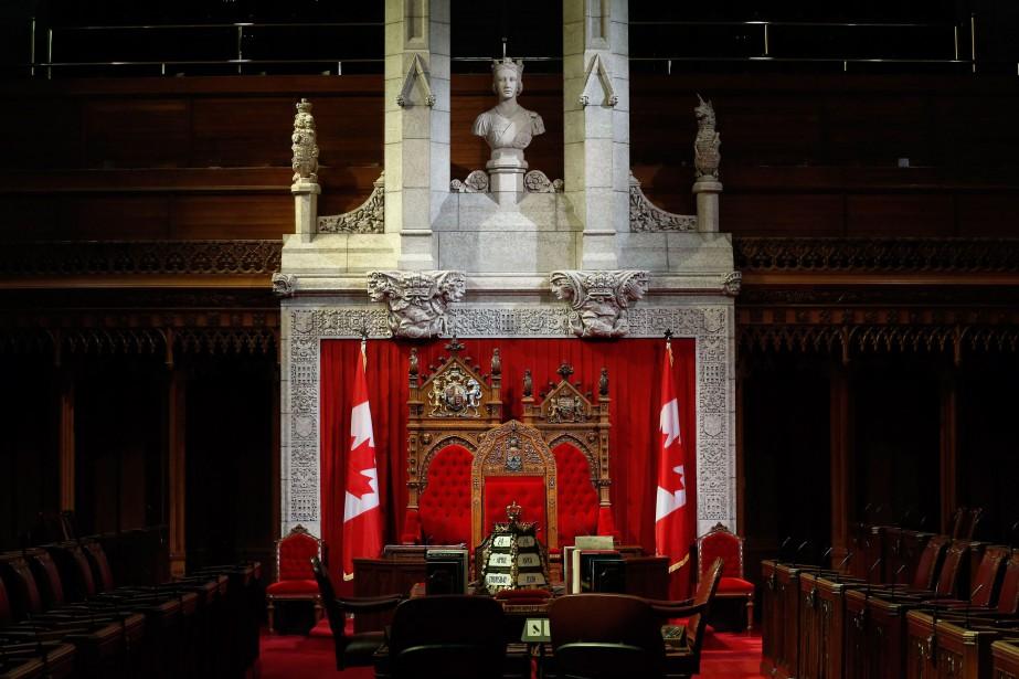 À l'heure actuelle la Chambre haute compte 47... (PHOTO CHRIS WATTIE, ARCHIVES REUTERS)