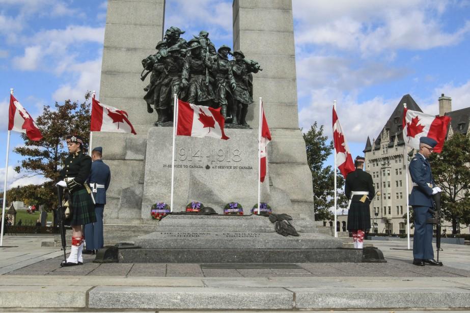 Le Monument commémoratif de guerre du Canada (Patrick Woodbury, LeDroit)
