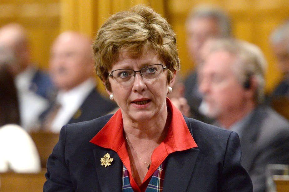 Le nom de l'ancienne ministre Diane Finley est... (PHOTO ARCHIVES LA PRESSE CANADIENNE)