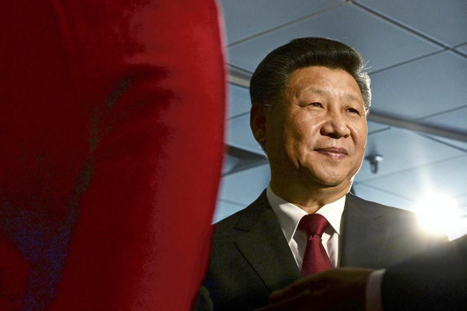 Le président Xi Jinping, également numéro1 du Parti,... (PHOTO ANTHONY DEVLIN, REUTERS)