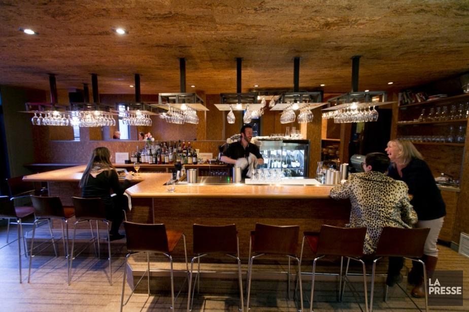 Le bar à vin Soif, ouvert en septembre2014... (PHOTO FRANCOIS ROY, LA PRESSE)