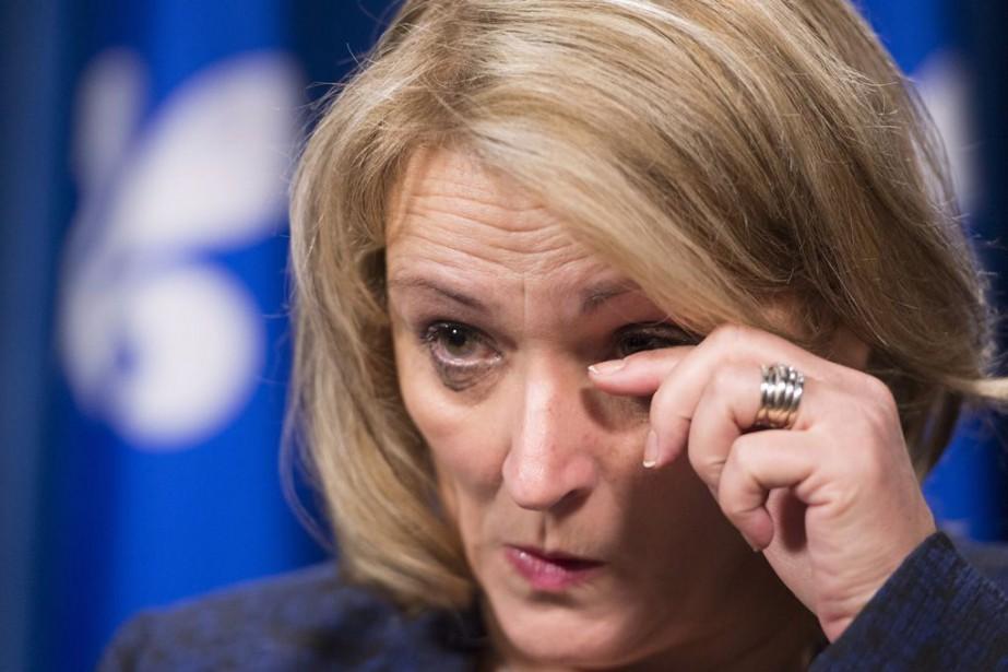 La ministre de la Sécurité publique, Lise Thériault.... (Jacques Boisinot, La Presse Canadienne)