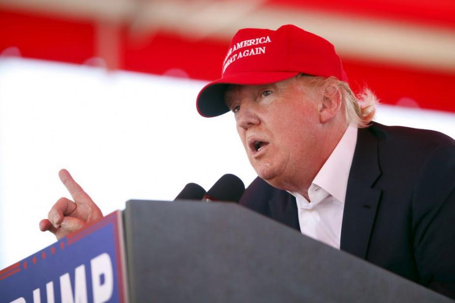 Donald Trump... (Photo Daron Dean, Reuters)