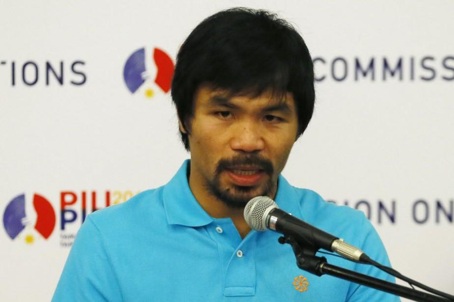 Manny Pacquiao... (Photo Bullit Marquez, archives AP)
