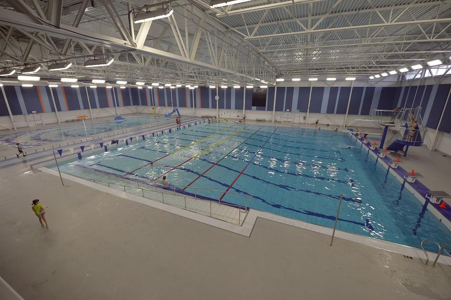 La piscine semi-olympique du complexe sportif de Saint-Augustin (Le Soleil, Pascal Ratthé)