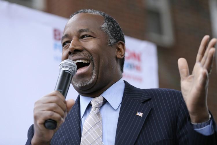 Ben Carson... (PHOTO AP)