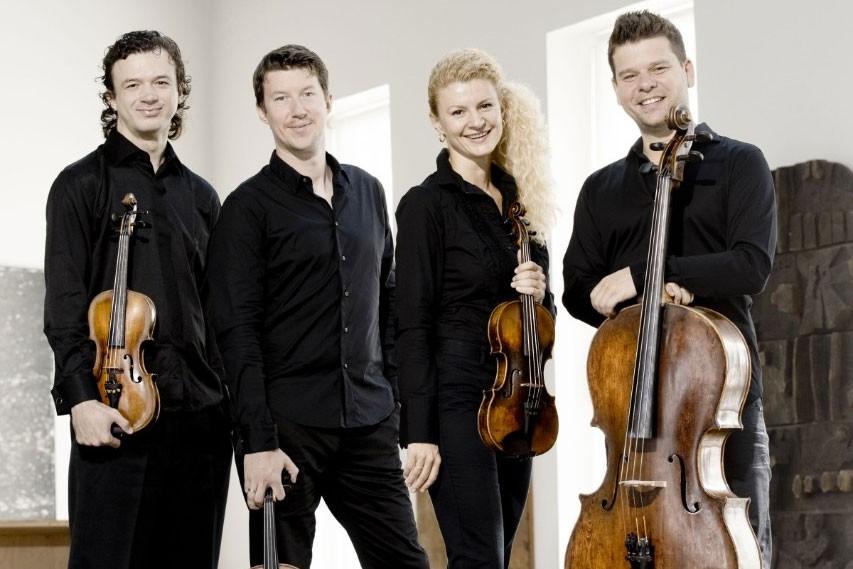 Le Quatuor à cordes Pavel-Haas... (PHOTO MARCO BORGGREVE, TIRÉE DU SITE INTERNET DU QUATUOR À CORDE PAVEL-HAAS)
