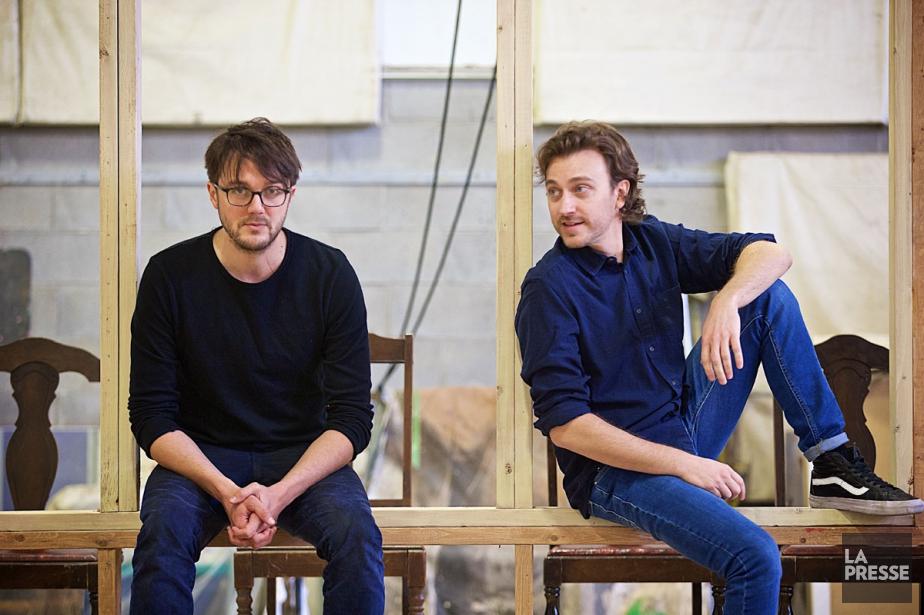 Vincent-Guillaume Otis et Benoît McGinnis incarnent deux frères... (PHOTO ANDRÉ PICHETTE, LA PRESSE)