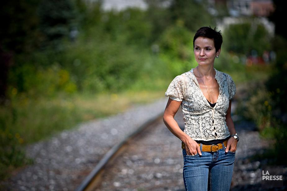 Anaïs Barbeau-Lavalette a écrit un récit, La femme... (Photo Patrick Sanfaçon, archives La Presse)