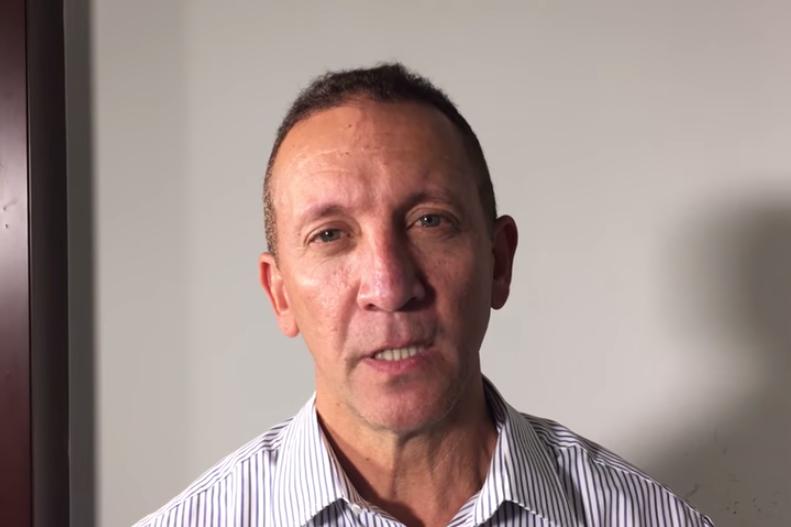 M.Nieves a annoncé dans une vidéo qu'il quittait... (PHOTO TIRÉE DE YOUTUBE)