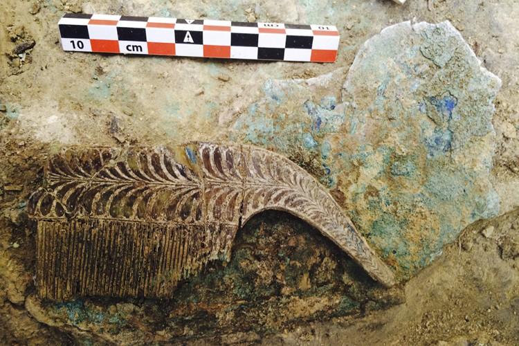 La tombe a été découverte au cours de... (PHOTO REUTERS)