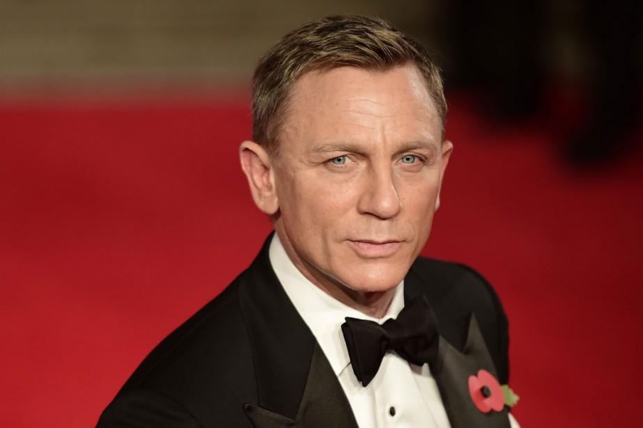 Daniel Craig à la première de Spectre.... (PHOTO AFP)