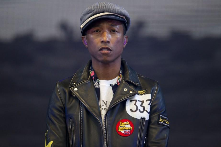 Pharrell Williams... (PHOTO ARCHIVES AFP)