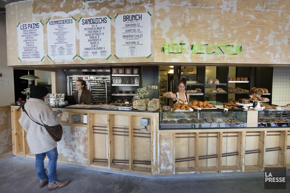 Chez Hof Kelsten, le menu du brunch, comme... (Photo Robert Skinner, La Presse)