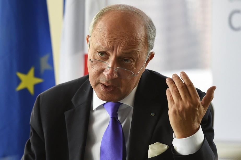 Le ministre français des Affaires étrangères, Laurent Fabius.... (Photo archives Reuters)