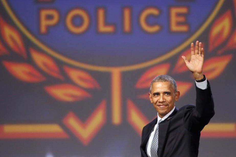 Le président américain avait déclenché la colère de... (Photo AP)