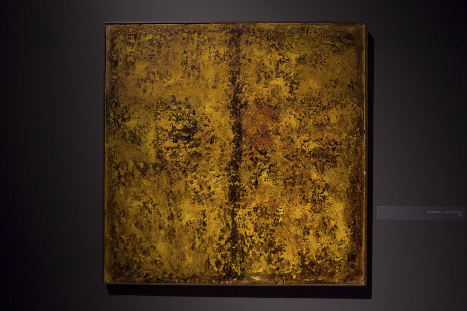 Oeuvre sans titre de Jean Mc Ewen (Le Soleil, Caroline Grégoire)