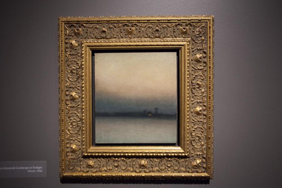 <em>Paysage au crépuscule</em>d'Ozias Leduc<em></em> (Le Soleil, Caroline Grégoire)