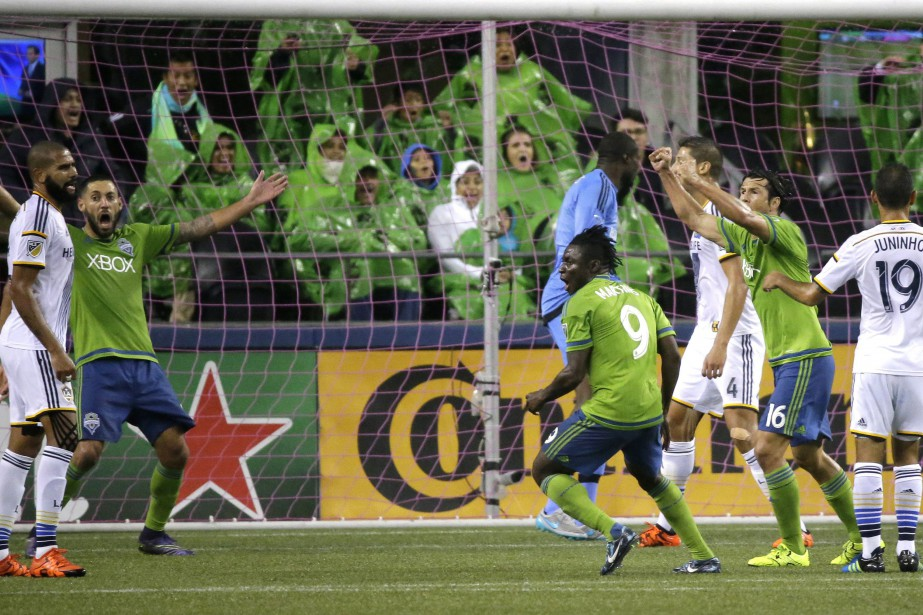 Les Sounders affronteront le FC Dallas ou les... (PHOTO TED S. WARREN, ASSOCIATED PRESS)