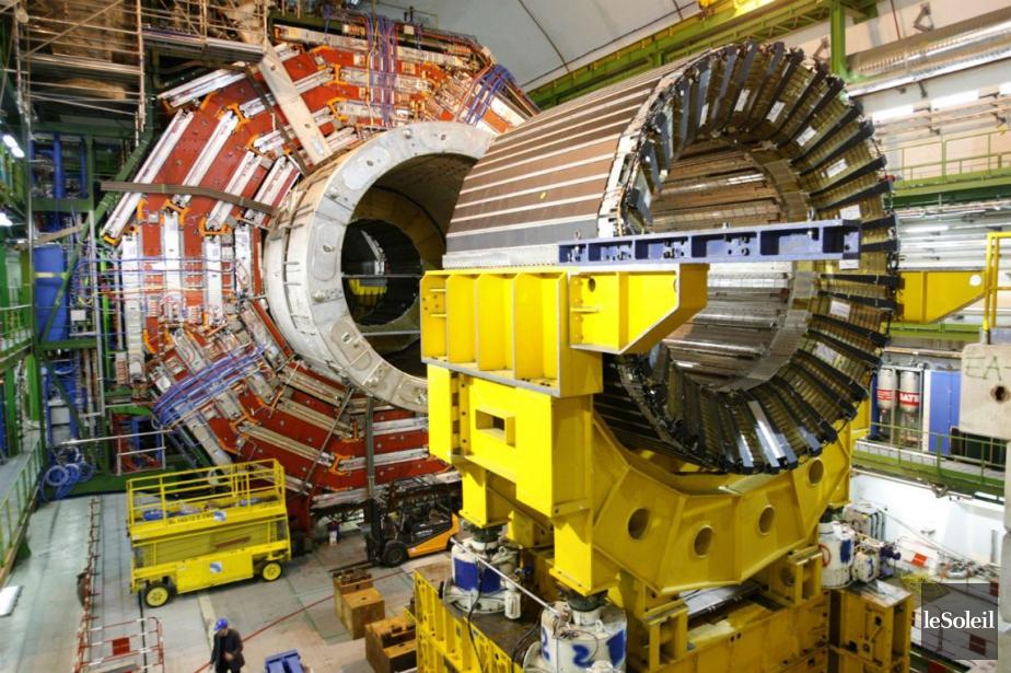 L'accélérateur de particules du CERN, près de Genève... (Photothèque Le Soleil)