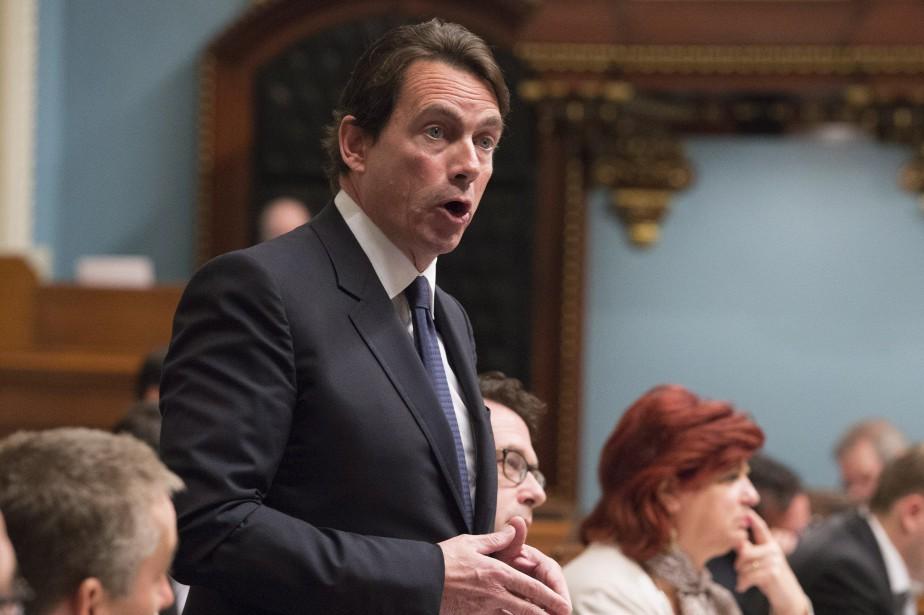 Pour Pierre Karl Péladeau, «le gouvernement a montré... (PHOTO JACQUES BOISSINOT, ARCHIVES LA PRESSE CANADIENNE)