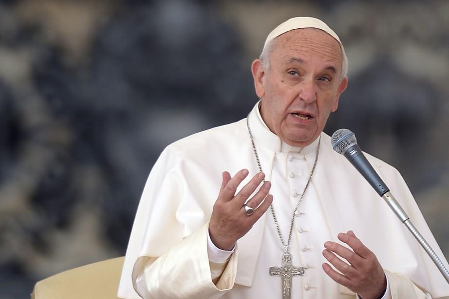 Le pape François... (PHOTO FILIPPO MONTEFORTE, AFP)