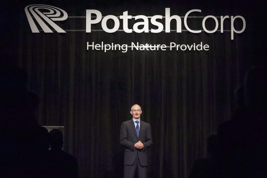 Le chef de la direction de PotashCorp, Jochen... (PHOTO ARCHIVES LA PRESSE CANADIENNE)