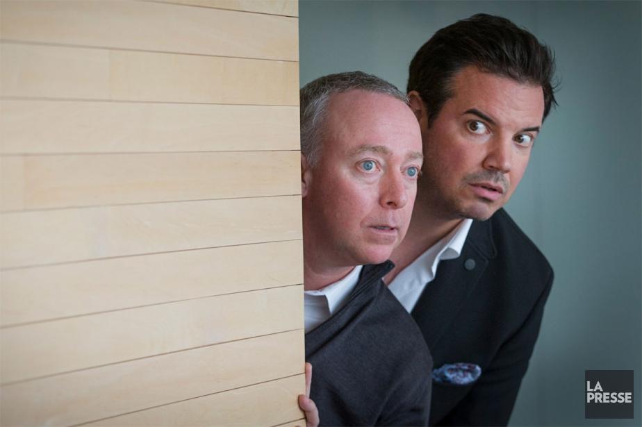 Guy Jodoin et Charles Lafortune incarneront deux perdants... (PHOTO IVANOH DEMERS, LA PRESSE)