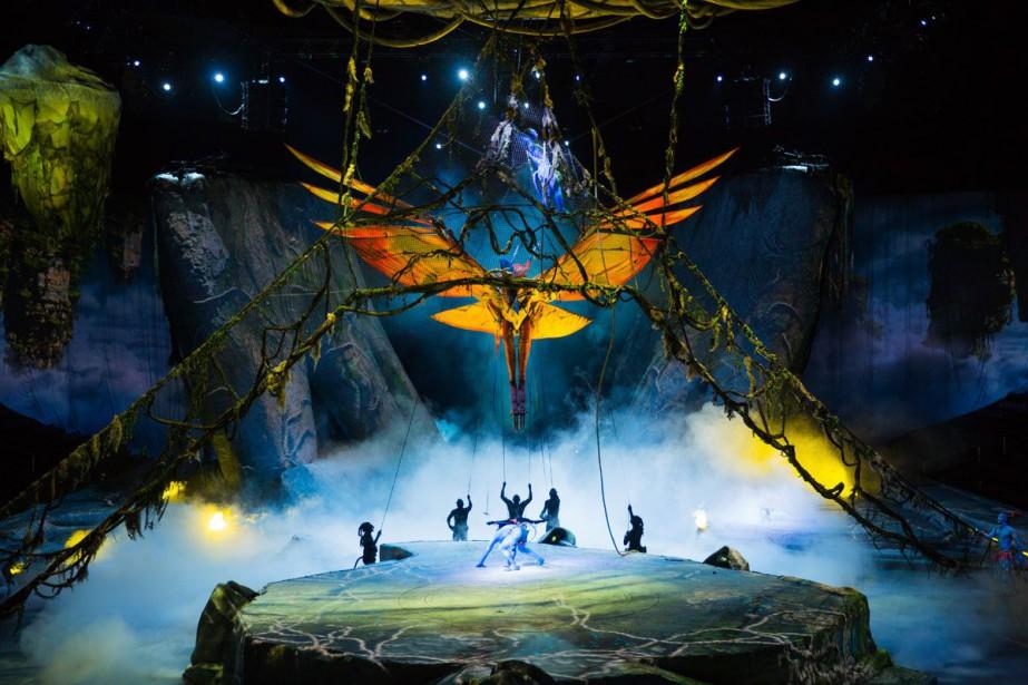 Le nouveau spectacle d'amphithéâtre Toruk est inspiré du... (PHOTO ERRISSON LAWRENCE, FOURNIE PAR LE CIRQUE DU SOLEIL)