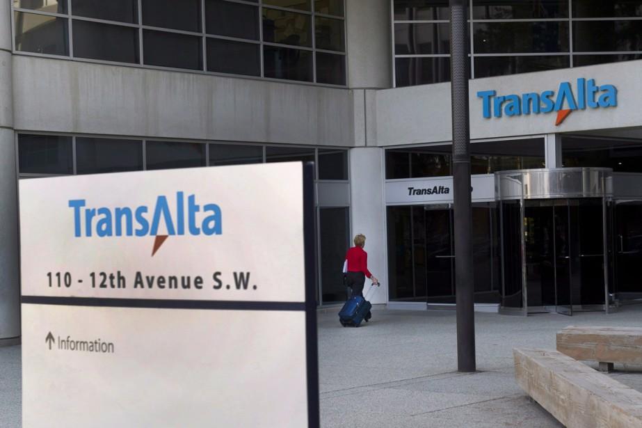 Le siège de TransAlta, à Calgary.... (Photo Larry MacDougal, PC)