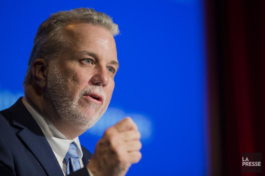 Le premier ministre du Québec, Philippe Couillard... (PHOTO EDOUARD PLANTE-FRÉCHETTE, ARCHIVES LA PRESSE)