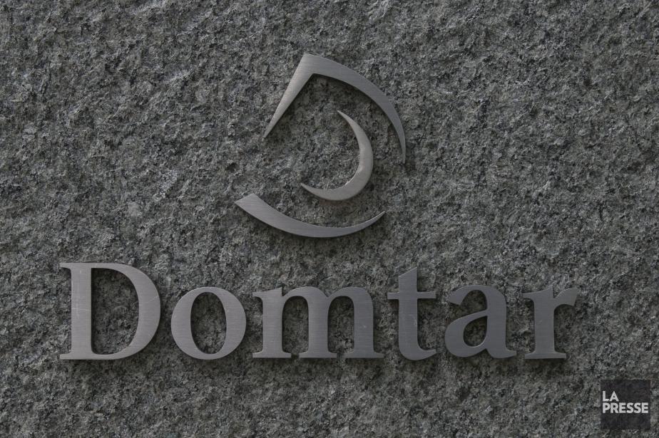 Domtar( (PHOTO HUGO-SÉBASTIEN AUBERT, LA PRESSE)
