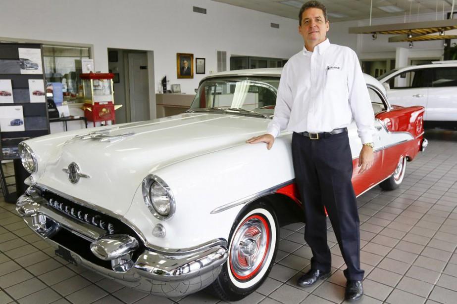 La Cadillac blanche que l'acteur James Gandolfini conduisait dans... (PHOTO AP)